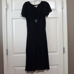 Free People | Embroidered V-Neck Dress S